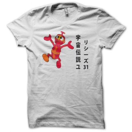 Tee shirt Nono le petit robot Ulysse 31 宇宙伝説ユリシーズ31 blanc