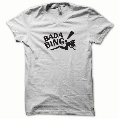 Tee shirt Bada Bing noir/blanc