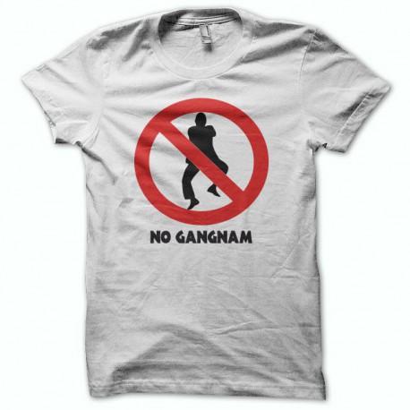 Tee shirt  no Gangnam Style 강남 스타일 blanc