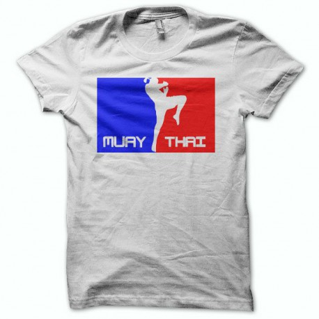 Tee shirt Muay Thai rules blanc
