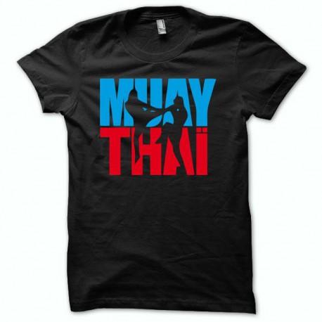 Tee shirt Muay Thai picto2 / noir