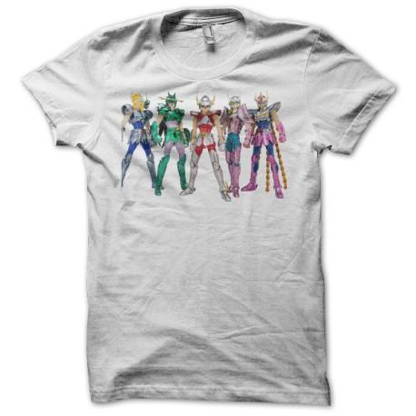 Tee shirt Chevaliers du Zodiaque Saint Seya 聖闘士 星矢 blanc