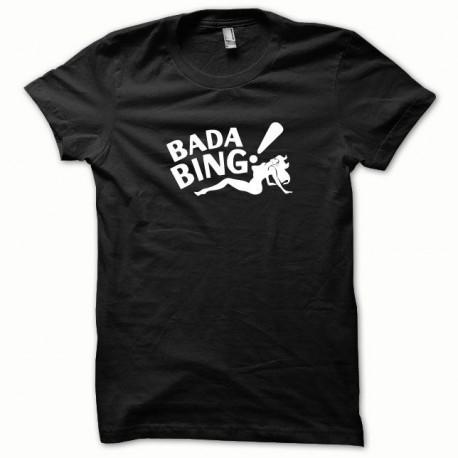 Tee shirt Bada Bing blanc/noir