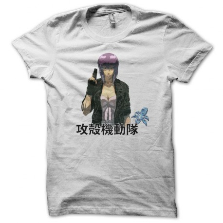 Tee shirt Ghost in the shell 攻殻機動隊 blanc