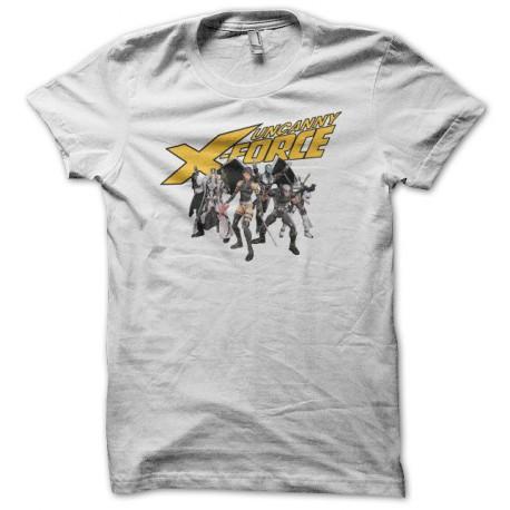 Tee shirt Uncanny X-Force blanc