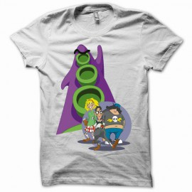 T-shirt day of tentacle white
