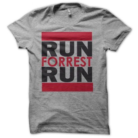 T-shirt Forrest gum Run forrest gump gray