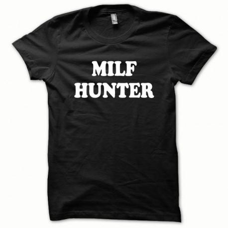 Tee shirt MILF Hunter blanc/noir