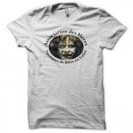 T-shirt parody The exorcist Association des Mères suceuses de Bites en Enfer white