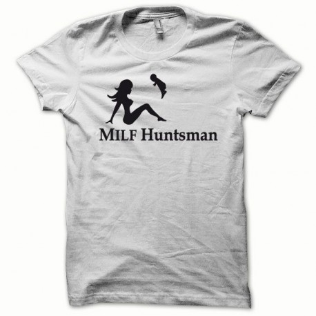 Tee shirt MILF Huntsman noir/blanc