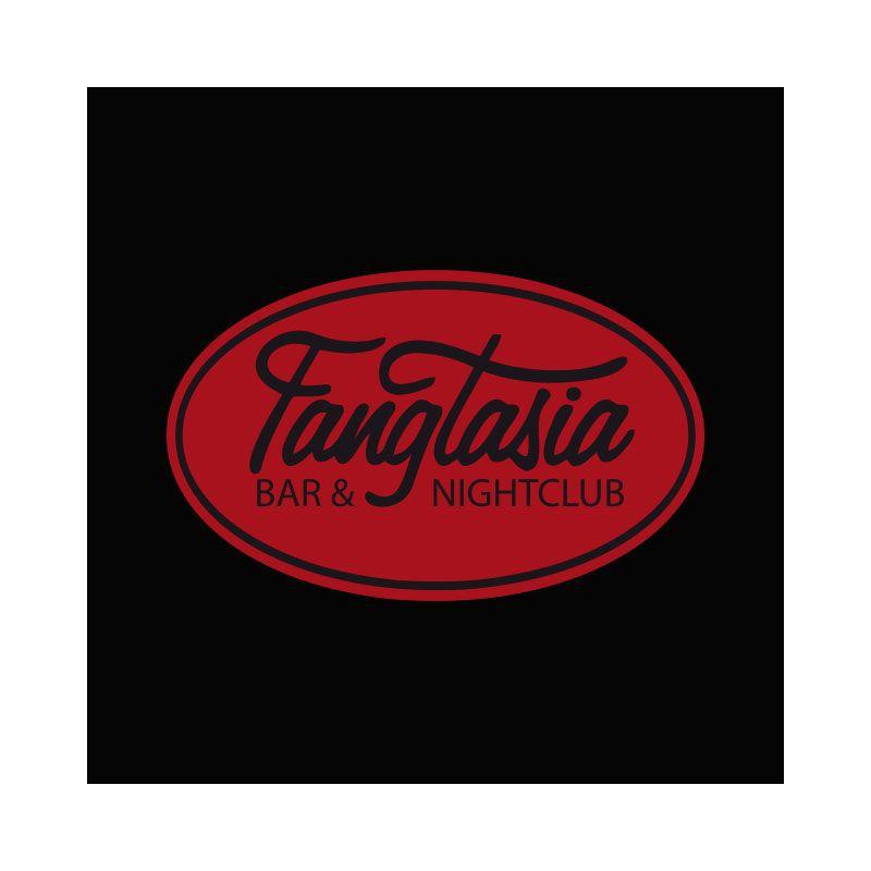 shirt true blood fangtasia logo black