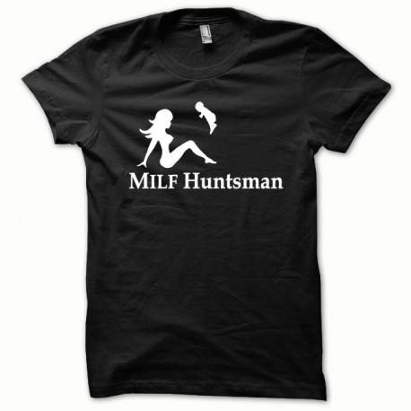 Tee shirt MILF Huntsman blanc/noir