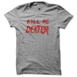 Camiseta Kill me DEXTER rojo/gris