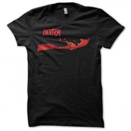 Tee shirt Dexter blood logo noir