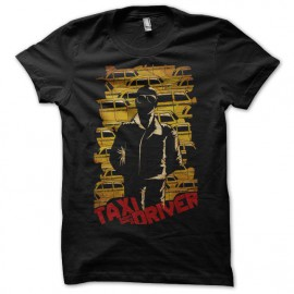 Camiseta Taxi Driver yellow cabs negro