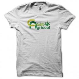 T-shirt rasta Crédit Agricool white