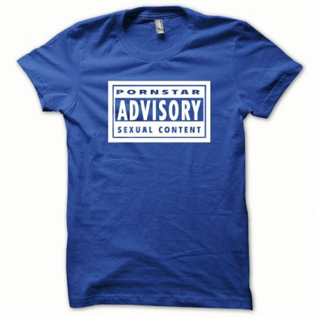 Sexual Content shirt white / royal