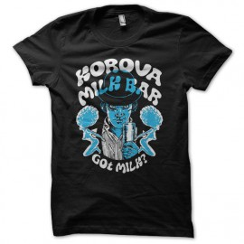 Camiseta Clockwork orange milk bar negro