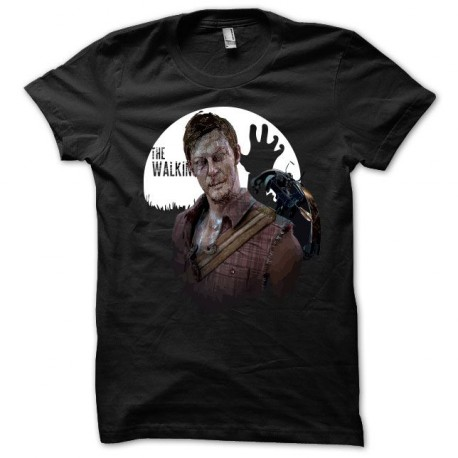 Camiseta The Walking Dead daryl dixon negro