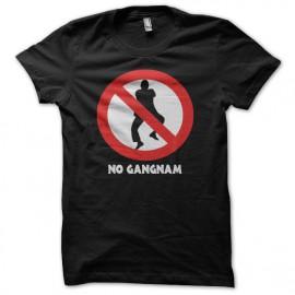 Tee shirt  no Gangnam Style 강남 스타일 noir
