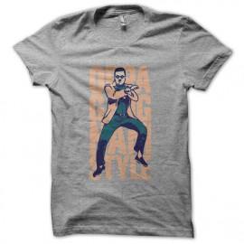 camiseta Gangnam Style OPPA 강남 스타일 gris