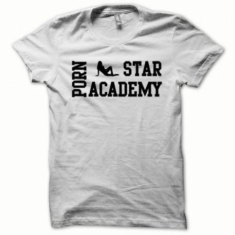 Tee shirt Porn Star Academy noir/blanc