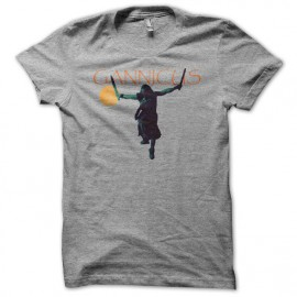 Camiseta Gannicus gris