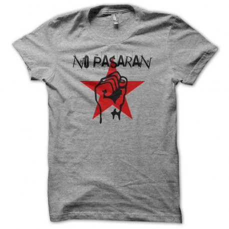 4b5f4d4b camiseta No Passaran gris