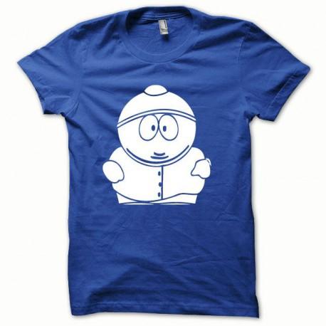 Tee shirt Parodie Cartman blanc/bleu royal