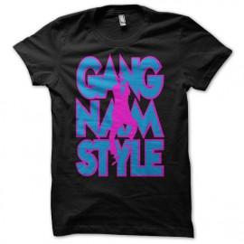 T-shirt  Gangnam Style 강남 스타일 black