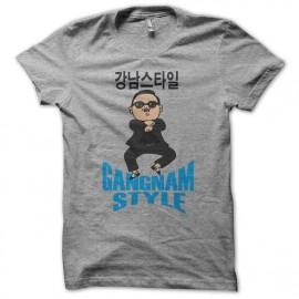 T-shirt  Gangnam Style 강남 스타일 gray