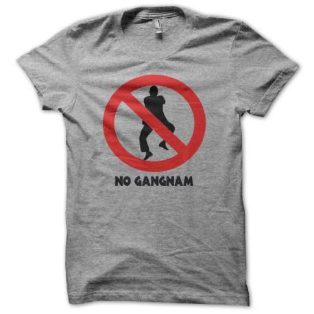 Tee shirt  no Gangnam Style 강남 스타일 gris
