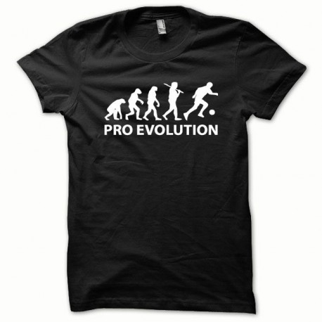 Tee shirt Pro Evolution blanc/noir