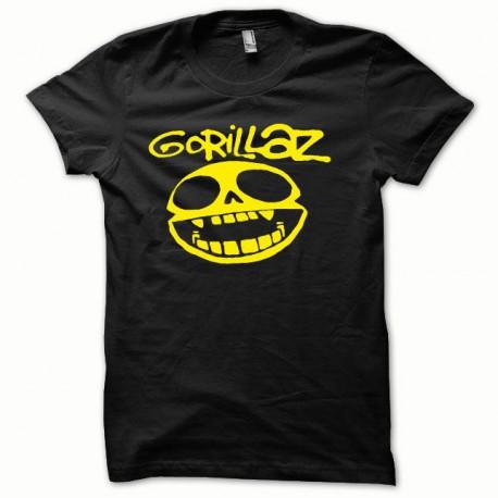 Tee shirt Gorillaz jaune/noir