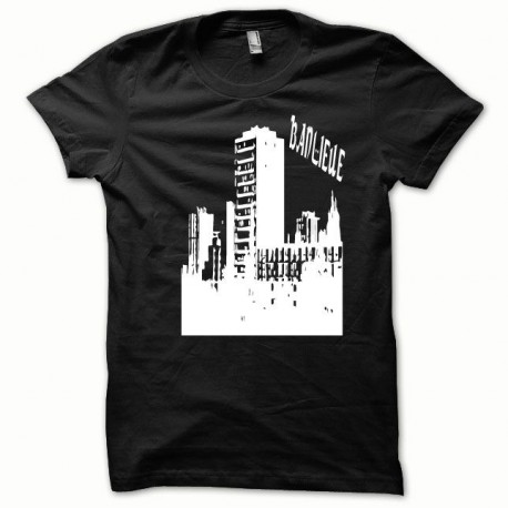 Suburbs shirt white / black