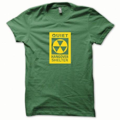 Tee shirt Hangover jaune/vert bouteille