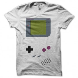 T-shirt Game Boy parody white