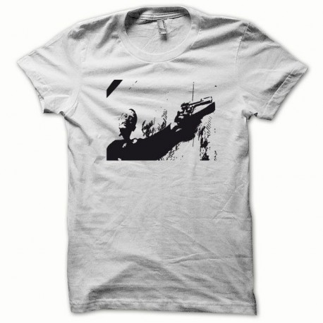 Shirt Jean Reno Leon black / white