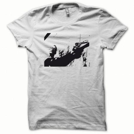 Tee shirt Jean Reno Leon noir/blanc