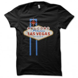 Tee shirt Poker Welcome to fabulous Las Vegas noir