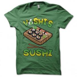 T-shirt Yoshi's Sushi green