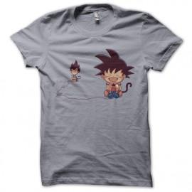 tee shirt Revenge parodie son goku gris