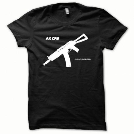 Tee shirt AK-CPM SOVIET blanc/noir