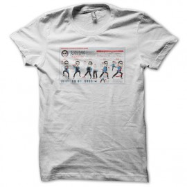 camiseta Gangnam Shitty Dance Lesson blanco