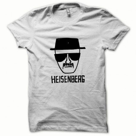 Tee shirt Breaking bad Heisenberg noir/blanc