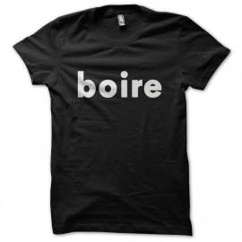 Tee shirt Boire Noir