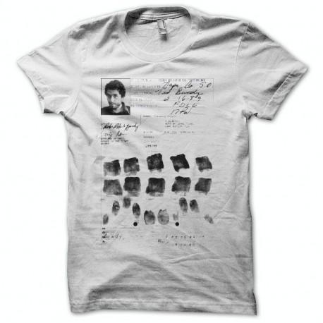 T-shirt Serial Killer Ted Bundy white