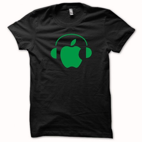 Shirt Apple Dj Green / Black