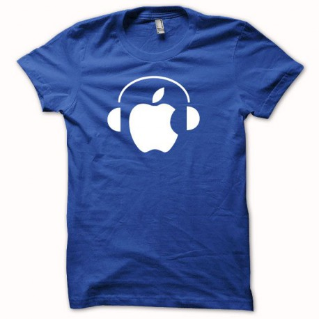 Tee shirt Apple Dj blanc/noir