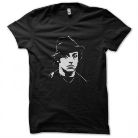 T-shirt Rocky Balboa hat artwork white/black